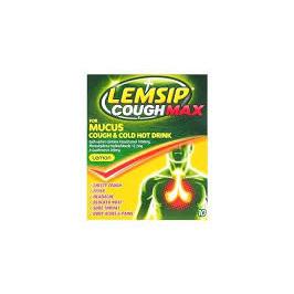 Lemsip Cough Max 10 Sachets [Lemon]