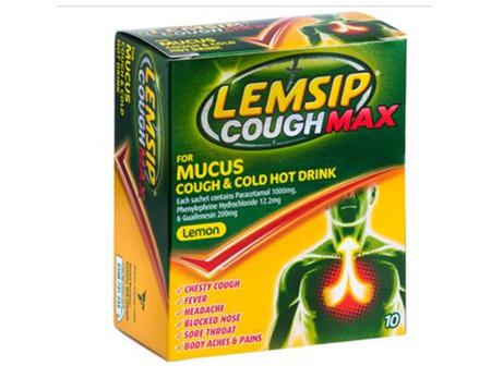 LEMSIP Max Mucus Cough Hot Drink 10