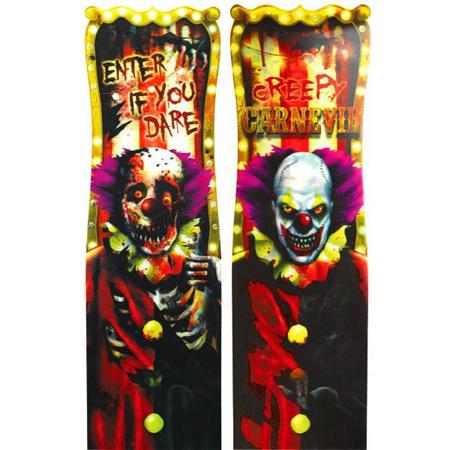 Lenticular Creepy Carnival Sign