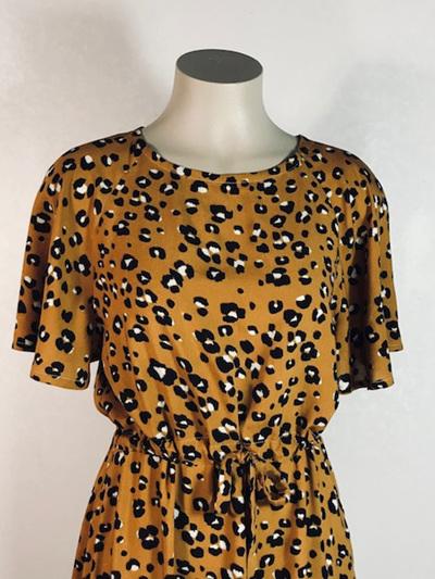 Leopard  Delia  dress