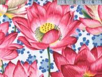 Leopard Lotus Blue