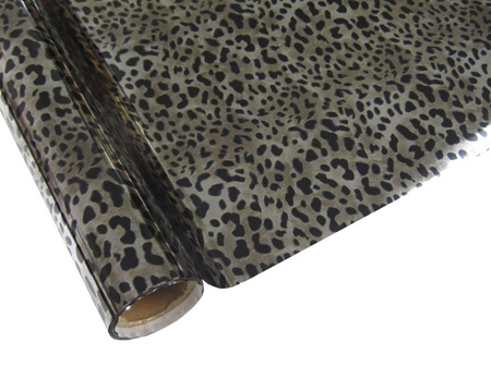 Leopard Silver Foil