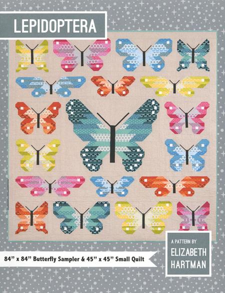 Lepidoptera Quilt Pattern