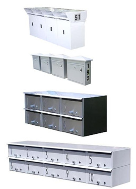 Letterboxes for Flats & Units