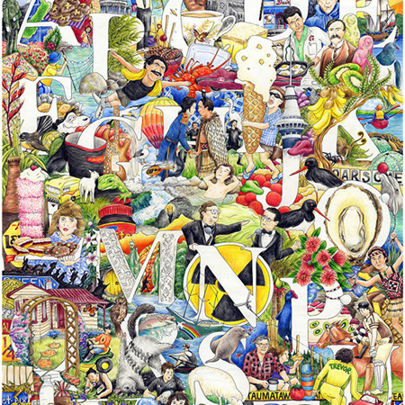 Letters Legendry Jigsaw 500 pieces