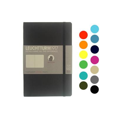 Leuchtturm 1917 notebook - B6 soft cover DOTTED