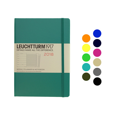 Leuchtturm1917 diary - A5 - 2018 Weekly plus Notes