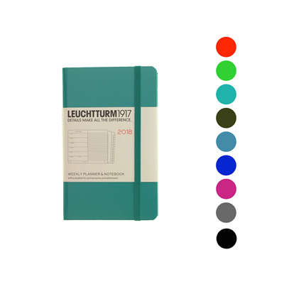 Leuchtturm1917 diary - A6 - 2018 Weekly plus Notes