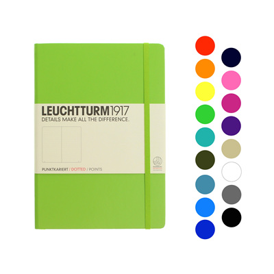 Leuchtturm1917 notebook - A5 DOTTED