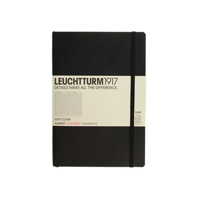 Leuchtturm1917 notebook - A5 soft cover SQUARED
