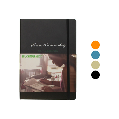 Leuchtturm1917 notebook - A5 - Some Lines A Day - The 5 Year Memory Book