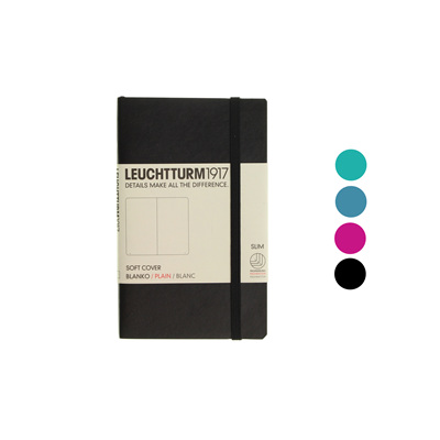 Leuchtturm1917 notebook - A6 soft cover BLANK