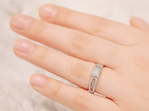 Levald diamond ring from the Inspired Collection on hand