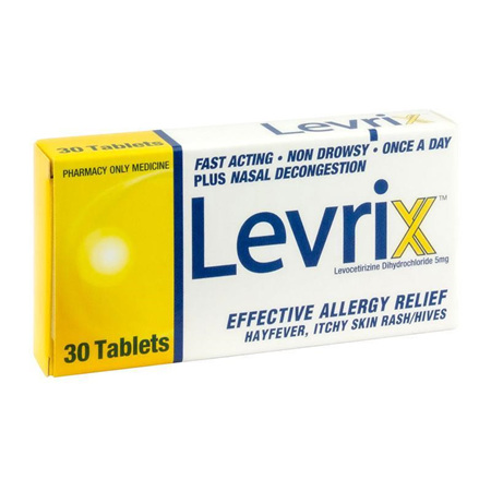 Levrix 5mg Tablets 30
