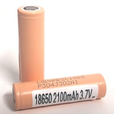 LG HD2C - 18650 - ICR - 2100mAh