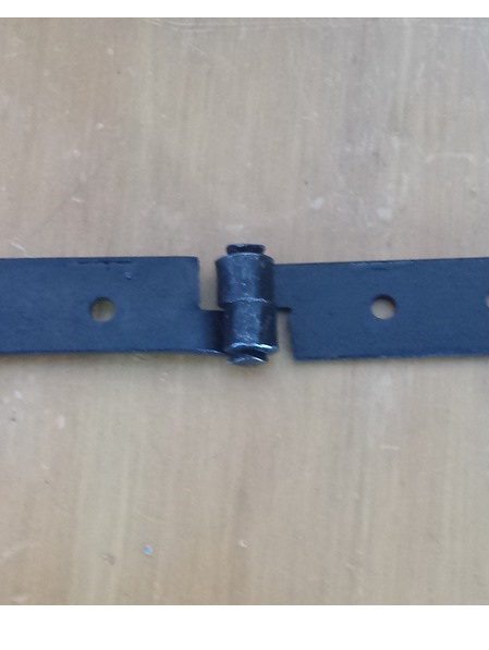 LH 6 - Pair of Iron Hinges for Chest or Furniture