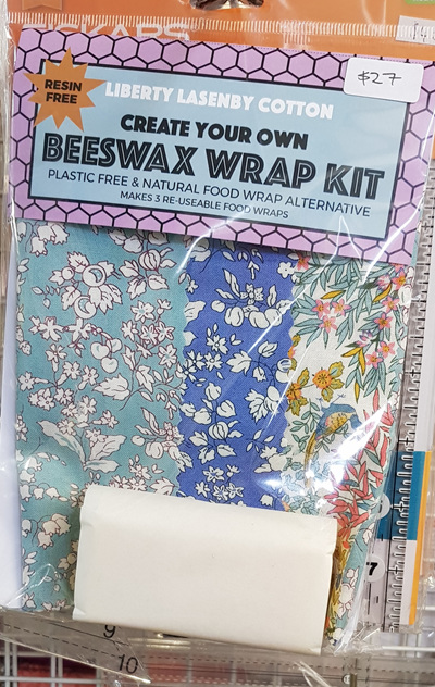 Liberty Beeswax Wrap Kit