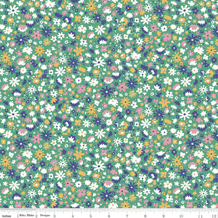 Liberty - The Carnaby Collection Bohemian Brights Bloomsbury Blossom in C 04775949C
