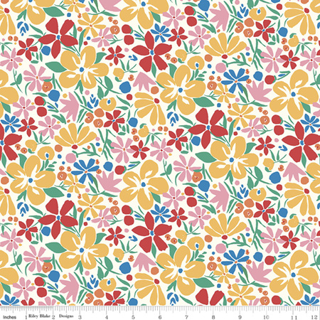 Liberty - The Carnaby Collection Bohemian Brights Bohemian Bloom in C 04775952C