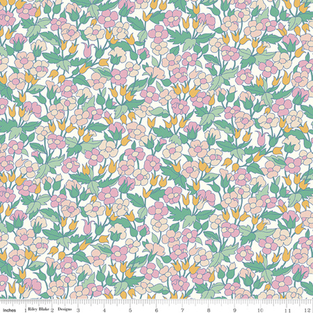 Liberty - The Carnaby Collection Bohemian Brights Piccadilly Poppy in E 04775941E