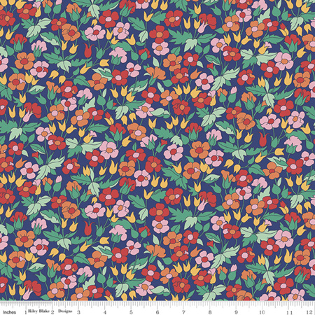 Liberty - The Carnaby Collection Bohemian Brights Piccadilly Poppy in F 04775941F