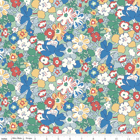 Liberty - The Carnaby Collection Bohemian Brights Westbourne Posy in D 04775947D
