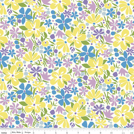 Liberty - The Carnaby Collection Daydream Bohemian Bloom in B 04775952B