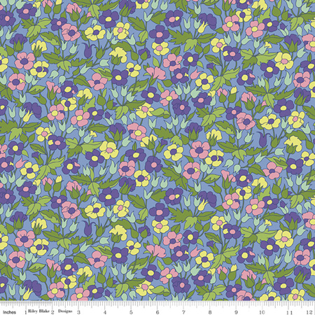 Liberty - The Carnaby Collection Daydream Piccadilly Poppy in D 04775941D