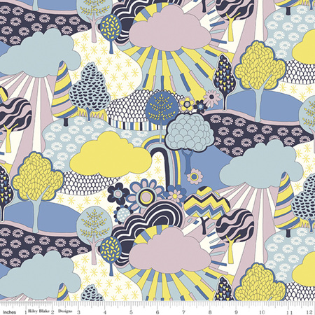 Liberty - The Carnaby Collection Daydream Sunny Afternoon in B 04775940B