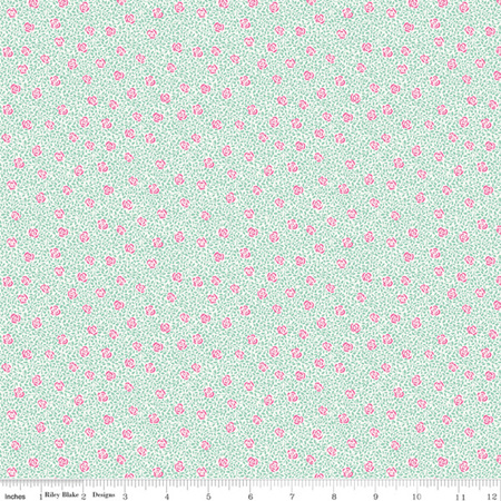 Liberty - The Deco Dance Collection Speckled Rose in A 04775924A