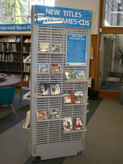 Library Book Stands