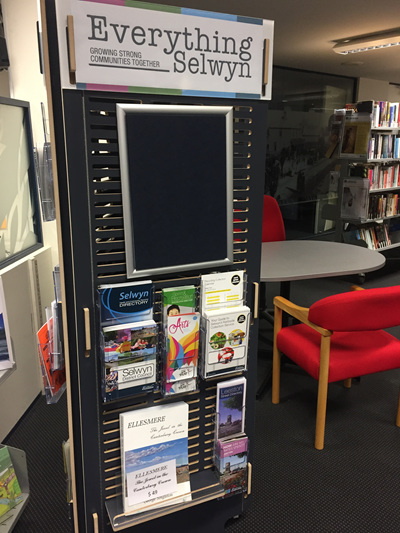 Library Stands Designed and Built by Shout Group