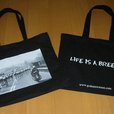 LIFE IS A BREEZE - TOTE BAG