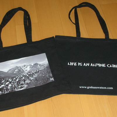 LIFE IS AN ALPINE CLIMB - TOTE BAG
