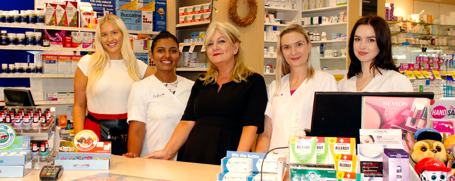 Life Pharmacy Remuera Team Shot
