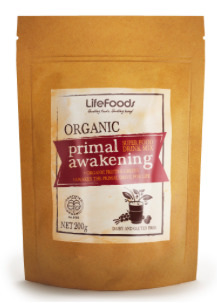 Lifefoods Certified Organic Primal Awakening Super Food Drink Mix 200gm