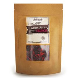 Lifefoods Organic Cacao Berry Crunch 250gm