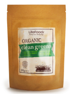 Lifefoods Organic Clean Greens Whole Food Powder 200gm