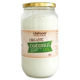 Lifefoods Organic Coconut Oil 470ml