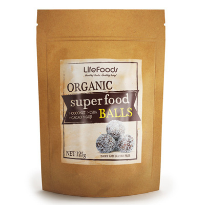 Lifefoods Organic Superfood Balls 125gm