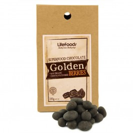 Lifefoods Organic Superfood Chocolate Covered Golden Berries