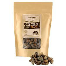 Lifefoods Raw Organic Cacao Beans 250gm
