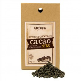 Lifefoods Superfood Chocolate Covered Cacao Nibs