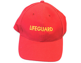 Lifeguard Cap Velcro Adjustable