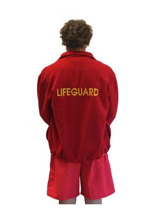 Lifeguard Red Polar Fleece