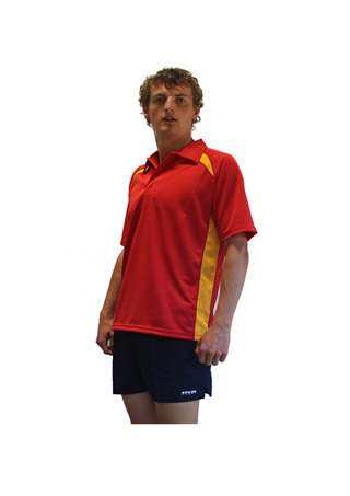 Lifeguard Reverse Red/Yellow  Polo