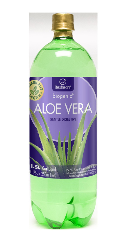 Lifestream ALOE VERA JUICE 500ML (1.5L in photo)