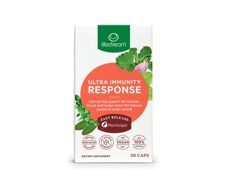 Lifestream Ultra Immunity Response 30 Capsules