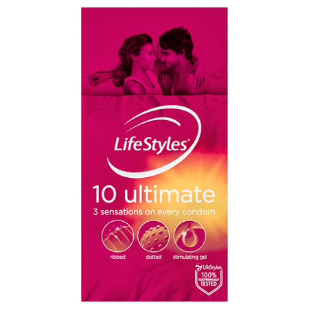 LifeStyles Ultimate Condoms 10 Pack