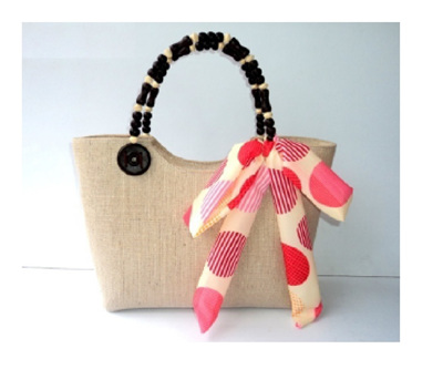 Light Beige Berry Handbag - Free Shipping